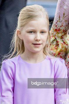 Princesse Eléonore, 21 juillet 2017, Te Deum pour la fête nationale belge,  Cathédrale des Saints Michel et Gudule, Bruxelles