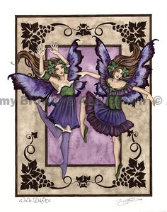 Amy Brown: Fairy Art - The Official Gallery -- Wine Dance (Robin)
