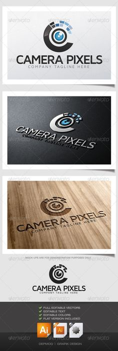 Camera Pixels from Graphicriver. Get it now for $29!