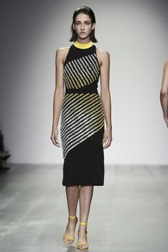 Asymmetrical designed fashions are always figure flattering, regardless of body shape. ~  David Koma RTW 15