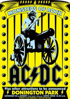 AC / DC  ACDC   22 August 1981 Monsters of Rock by tarlotoys
