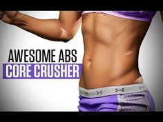 AWESOME ABS At Home Workout for Women -- NO EQUIPMENT Needed! - YouTube