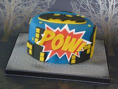 Batman birthday cake by The Designer Cake Company, via Flickr