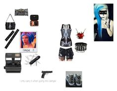 """Doing some things with Chloe Price"" by kitanadt ❤ liked on Polyvore featuring Impossible, Converse, Victorinox Swiss Army, Smith & Wesson, Dot & Bo and Incase"