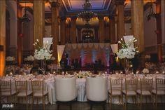 Wedding reception at the beautiful 90 State in Albany, NY  #mazzonecatering #weddings #weddingdecor