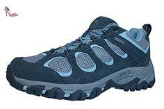 Merrell Hilltop Ventilator Waterproof Femmes Chaussures de randonnée-Grey-42 - Chaussures merrell (*Partner-Link)
