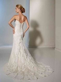 Lace Tulle Sweetheart Applique Beaded Diamonds Lace-up Wedding Lace Back Wedding Dress, Wedding Dresses With Straps, Tulle, Lace Up, Bridal Gowns, Inspiration, Wedding Stuff, Applique, Diamonds