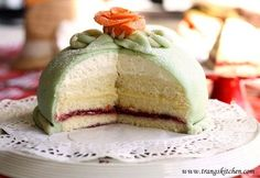 Trang's Kitchen - Princess Cake - A very traditional French Cake