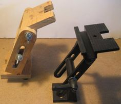 The Cheapest Sharpening Tool Rest/Jig - Shop-made Grinder Tool Rest (Retired)