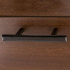 Solid Bronze Oval Cabinet Pull