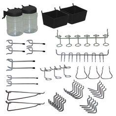 Shop Blue Hawk Metal Pegboard Organizer Kit $12