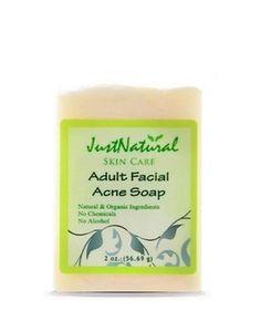 Acne Sensitive Facial Clear Soap /  Sensitive Facial Acne Soap Moisturizer TriDerma MD Vein Defense 2.2 oz.. Tube Cream Unscented-1 Each