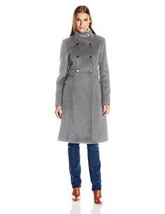 """Beautiful design lines and mock neck give this military coat just the right amount of detail       Famous Words of Inspiration...""""If what you are doing is not moving you towards your goals, then it's moving you away from your goals.""""   Brian...  More details at https://jackets-lovers.bestselleroutlets.com/ladies-coats-jackets-vests/wool-pea-coats/product-review-for-eliza-j-womens-wool-blend-military-coat/"""