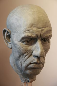 Clay Sculpture | clay sculpture by oldboy82 traditional art sculpture busts people 2011