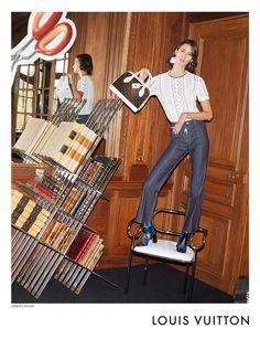 Marte Mei van Haaster by Juergen Teller for Louis Vuitton