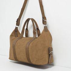 Image 2 of SOFT DUFFEL BAG from Zara