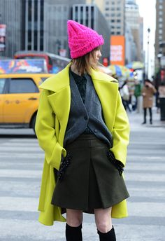 Street Style Highlights from New York Fashion Week F/W 2014