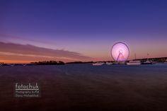 National Harbor Ferris Wheel at Dawn - National Harbor Ferris Wheel at Dawn.   .  http://wp.me/p1kNUw-2Db