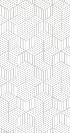Removable Wallpaper / Cube Pattern Geometric Wallpaper / Traditional or Self Adhesive Wallpaper Wallpaper Rosa, White Background Wallpaper, Retro Wallpaper, Trendy Wallpaper, Geometric Background, Fabric Wallpaper, Background Patterns, Textured Background, White Backgrounds