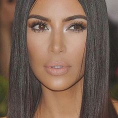 Kim Kardashian's successful cosmetic line, KKW Beauty is releasing a new line of lipsticks that we've all been waiting for: nudes. Since launching last year, Kardashian's beauty l… Kim K Makeup, Eyebrow Makeup, Makeup Inspo, Makeup Inspiration, Beauty Makeup, Hair Makeup, Hair Beauty, Makeup Eyebrows, Makeup Ideas