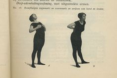 From My system for woman by J. P. M Muller, 1931. Mijn systeem voor vrouwen door J. P. M Muller.