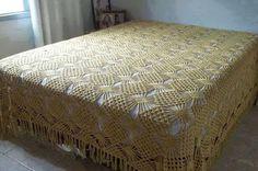 Ideas para el hogar: Tres colchas en crochet