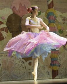 Beautiful+Ballet+Costumes | Multi colored ballet costume