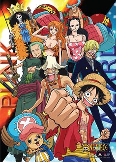 One Piece Wall Scroll - Punk Hazard Fire & Ice @Archonia_US