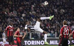 042113-Football-Milan-Juventus' Paul Pogba. Perhaps the impossible is not so. Make it happen. Just do it. Notice the Nike Swish on his shoes. Best.