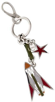 Tod's Rocket Keychain