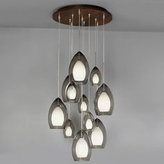 Fire Multi-Light Pendant by Tech Lighting