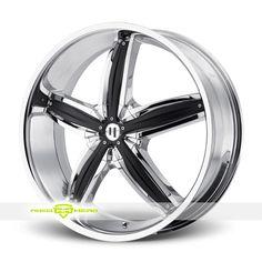 Helo HE844 Chrome Wheels For Sale - For more info: http://www.wheelhero.com/customwheels/Helo/HE844-Chrome