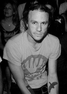 Heath - his eyes were always sad...