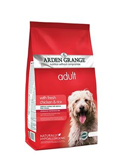 Arden Grange Adult Chicken Dog Food - 12 kg. Dog food. Dog training. Dog guide. Pet guide. Pet food. It's an Amazon affiliate link.