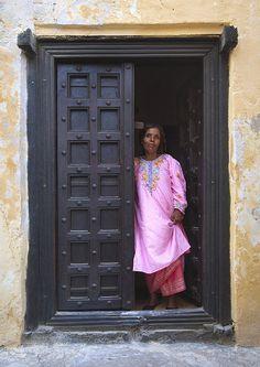 Old door in Lamu, Kenya - BelAfrique your personal travel planner - www.BelAfrique.com