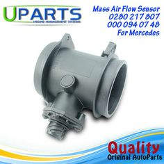 UPARTS Brand New,OEM Quality Mass Air Flow Meter MAF Sensor For Benz C140/ W140/W210/S210 0280 217 807/0280217808/0000940748
