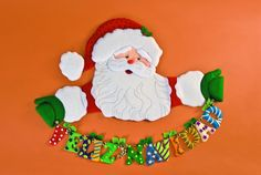 Decora esta Navidad con un letrero de Santa
