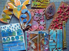 Lost Coast Post: Serendipithon Sundays: Handmade Foam Stamps - Michelle Remy