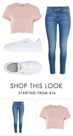 """""""clasic"""" by juliadb on Polyvore featuring Topshop and Puma"""