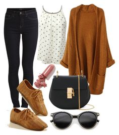 """""""Untitled #266"""" by ana-gabriela801 on Polyvore featuring Vila Milano, ZeroUV, Chloé and LAQA & Co."""