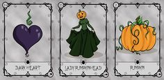 Halloween Lenormand can be found through undertheroses.wix.com/undertheroses