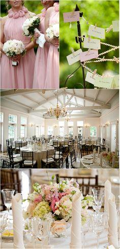 Reception Table Decor - minus the brides maid dresses its gorgeous!