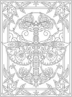 Willkommen bei Dover Publications 9551   32 ausmalbilder kostenlos