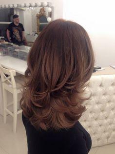 Medium Layered Hair, Medium Hair Cuts, Long Hair Cuts, Medium Hair Styles, Curly Hair Styles, Haircuts For Medium Hair, Asian Short Hair, Great Hair, Hair Highlights