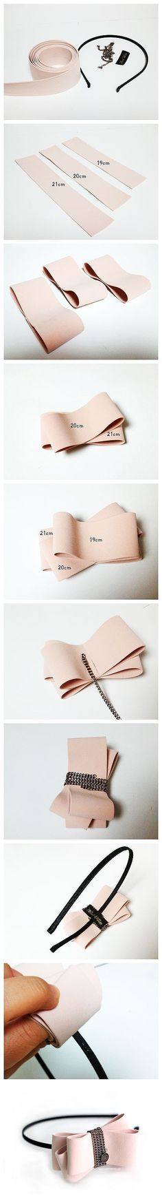 DIY Hair Bow diy crafts home made easy crafts craft idea crafts ideas diy ideas diy crafts diy idea do it yourself diy projects diy craft handmade hair bow hair accessories