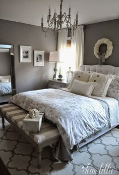Donna Lang saved to master bedroomdark grey master bedroom ideas #homeideas #bedroomdesign #bedroomdecor #bedrooms