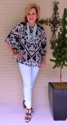 50 IS NOT OLD | ROBIN'S EGG BLUE | Black and Blue | Summer outfit | Fashion over 40 for the everyday woman