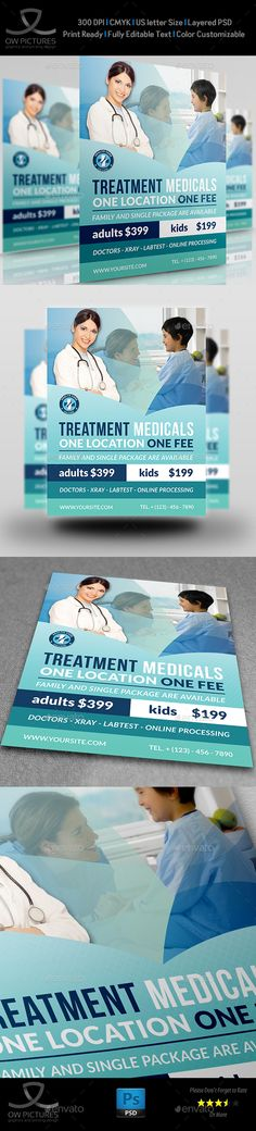 Pharmacy Flyer Template Vol4 Flyer template and Pharmacy - pharmacy letter