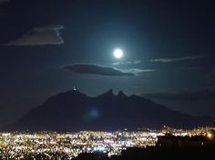 Cerro De La Silla, Monterrey Mexico.  What a spectacular view!