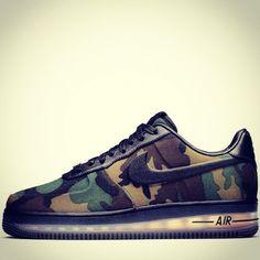 Nike Air Force 1 Camo